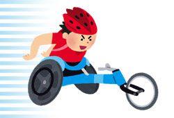 レース用車椅子のイメージ