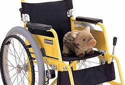 子供用車椅子のイメージ
