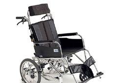 黒のリクライニング車椅子のイメージ