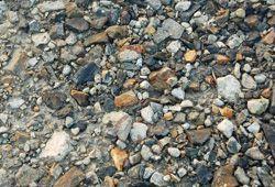砂利道のイメージ