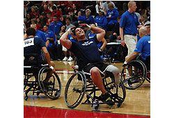 スポーツ車椅子のイメージ