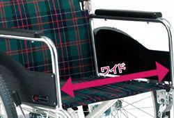 大きな車椅子の画像