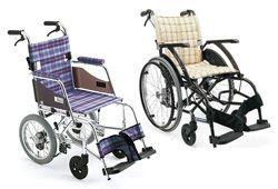 いろいろな車いすのイメージ