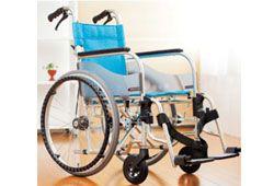 小回りの利く室内用車椅子のイメージ