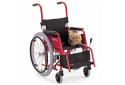 カワムラサイクルの子供用車椅子のイメージ