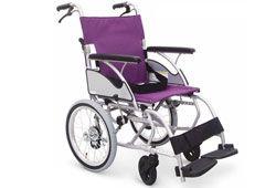 介助式車椅子のイメージ