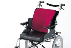 快適に座れる車椅子のイメージ