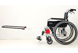 車椅子とJINRIKIのイメージ