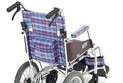車椅子の後ろのイメージ
