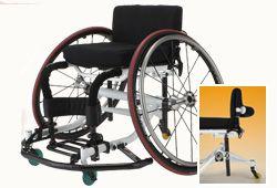 日進医療器のバスケット車椅子のイメージ