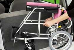 松永製作所の軽量車椅子