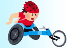 競技用の車椅子