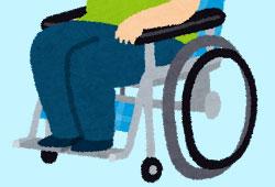 車椅子と体