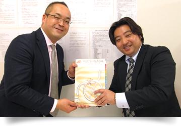 松永様と渡部社長2