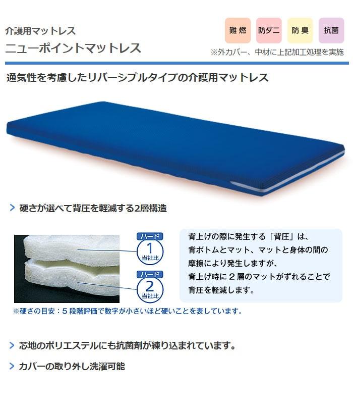 介護ベッド用マットレス ニューポイント