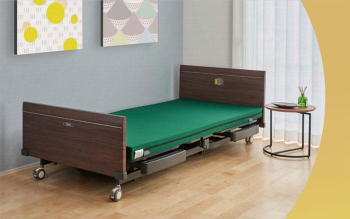 プラッツ 介護施設用電動ベッド レイスト使用イメージ