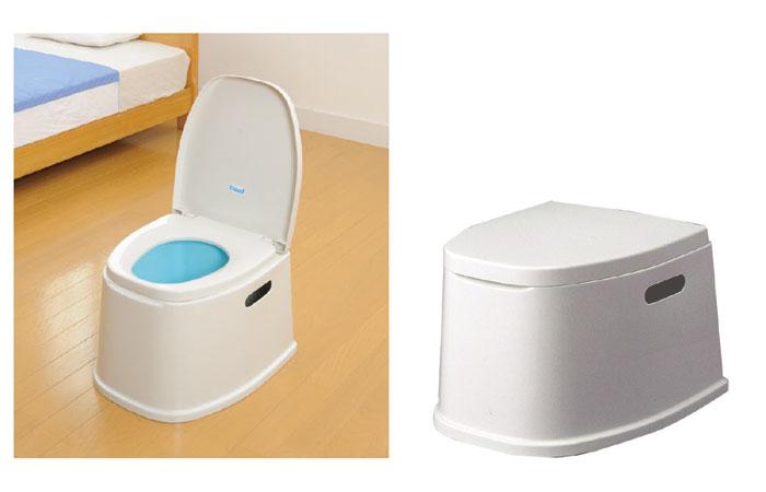 テイコブポータブルトイレ PT01 [介護トイレ用品]の機能