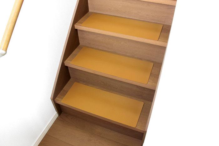 階段ノンスリップマットの使用イメージ