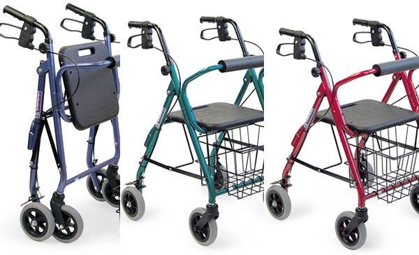 四輪歩行車 KW20のカラーバリエーション