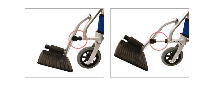 CA-70SU車椅子画像6枚目