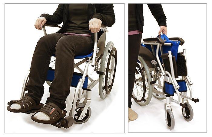 CA-70SU車椅子画像5枚目