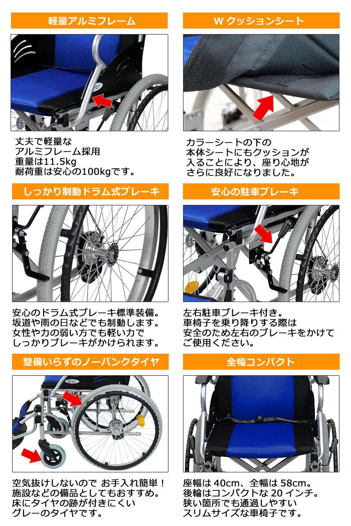 CA-12SU車椅子画像3枚目