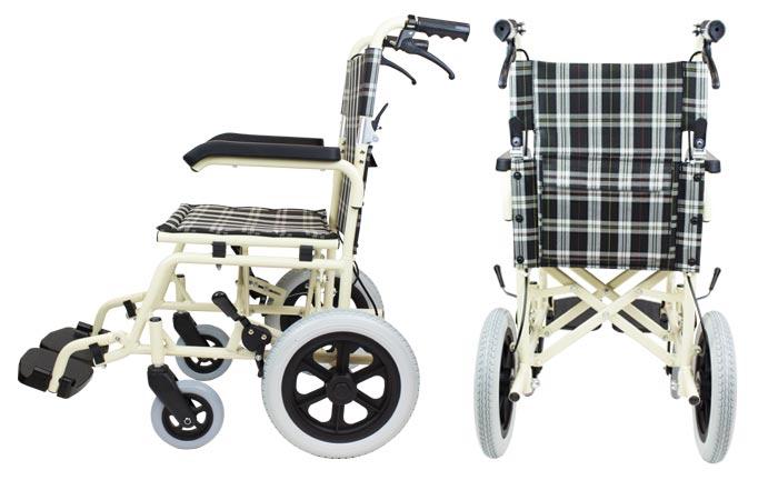 介助式アルミ製車椅子 CA-41SU車椅子画像4枚目