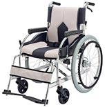 【マキテック】自走介助兼用車椅子 KC-1