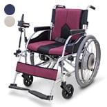 【マキテック (マキライフテック)】電動ユニット装着車椅子 e-COLORS KC-JWX-1