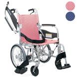 介助式車椅子 ふわりす+ KPF16-40(42)SB