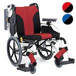 【松永製作所】スタイリッシュ多機能タイプ車椅子 MY-2
