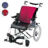 【日進医療器】介助式車椅子 座王シリーズ スタンダード NAH-521A